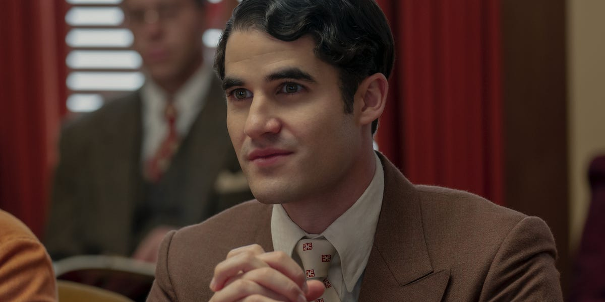 Darren Criss in Hollywood on Netflix.