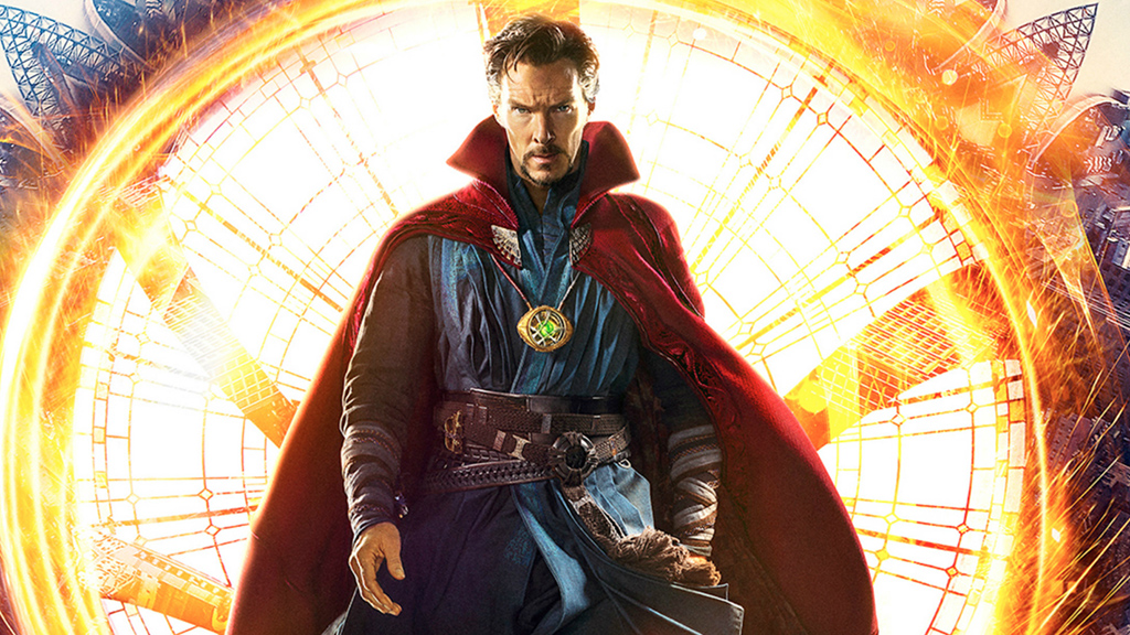 Benedict Cumberbatch as the Sorcerer Supreme in Doctor Strange