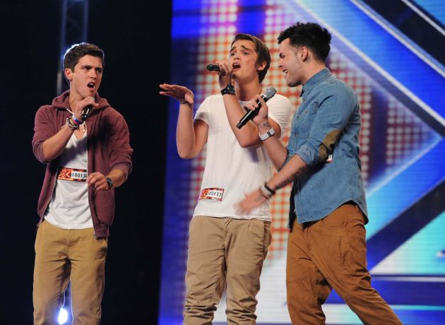 X Factor: Times Red, Union J for judges' houses