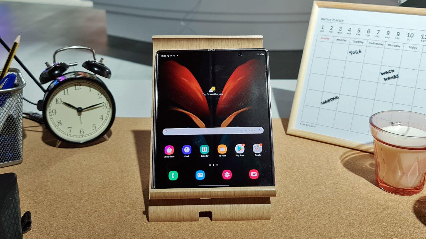 Hands on: Samsung Galaxy Z Fold 2 review | TechRadar