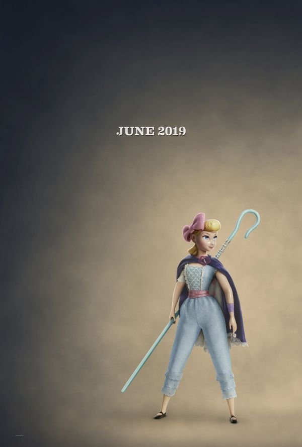Bo Peep in Toy Story 4 poster