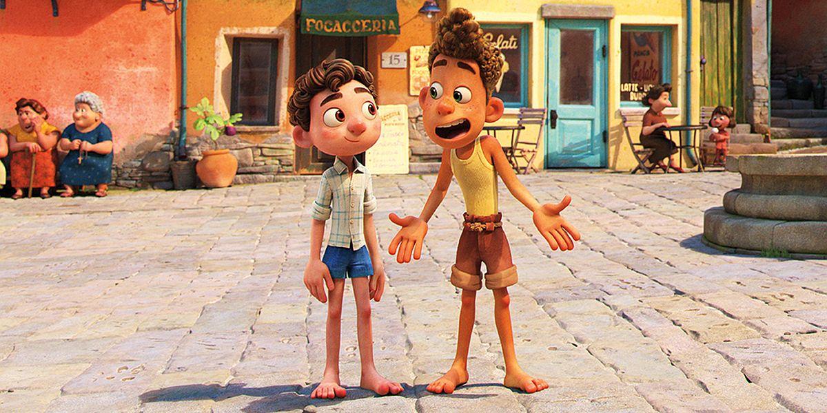 Luca and Alberto Pixar