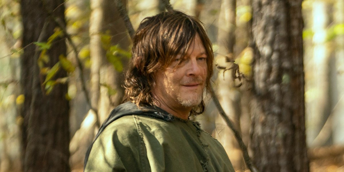 the walking dead daryl flashback season 10