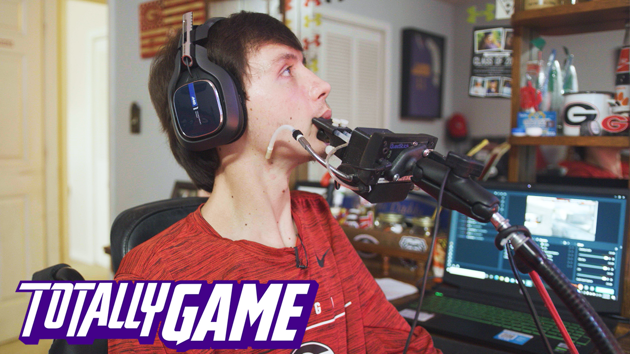 Totally Game: This quadriplegic gamer will snipe you in Warzone