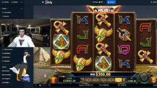 Trainwrecks gambling on Twitch