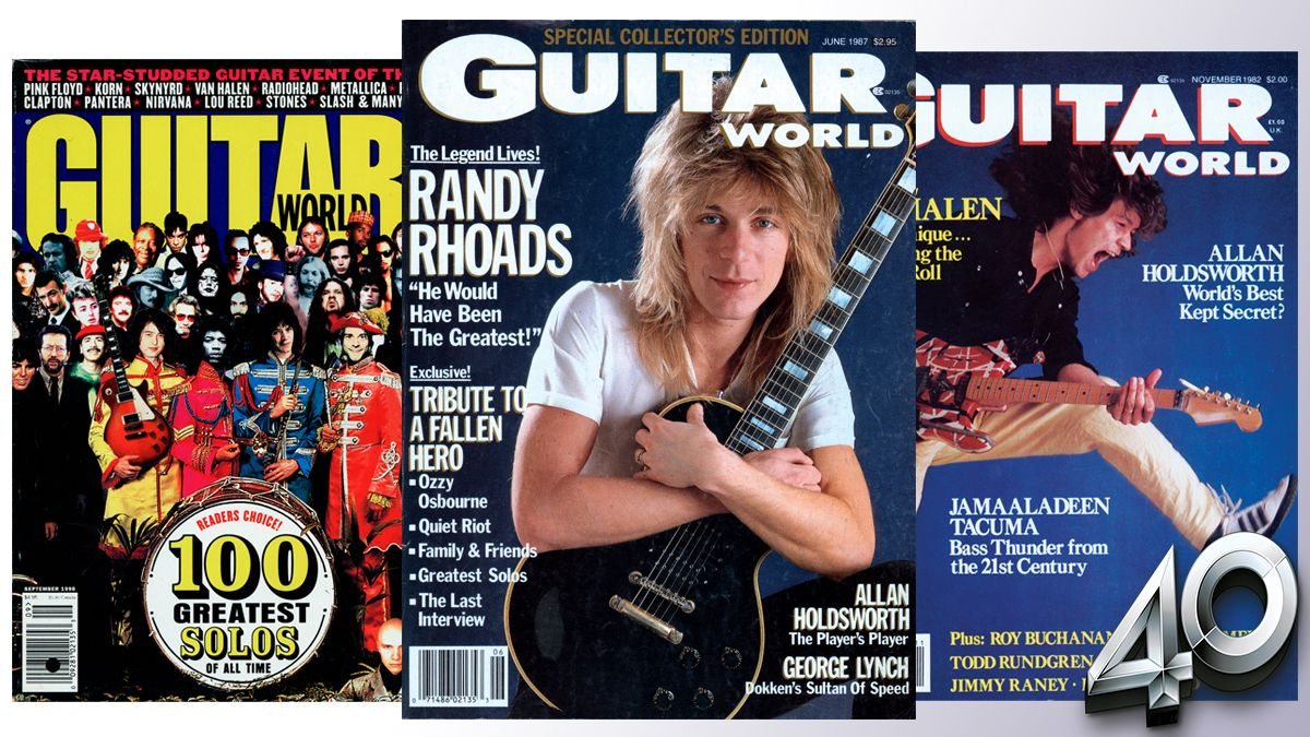 The greatest Guitar World magazine covers of all time… revealed!