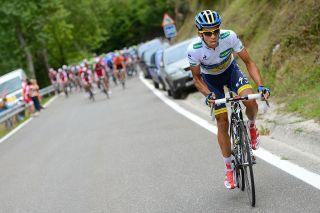 Alberto Contador Vuelta 2012