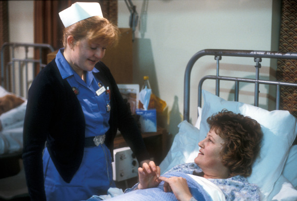 Cathy Shipton I M Thrilled Duffy S Back On Casualty