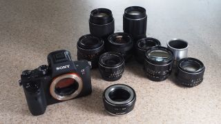 M42 to Sony FE lens adapter