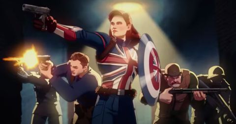 Captain Carter and The Howling Commandos in Marvel's 'What If...?'
