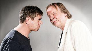 Rick Wakeman and JJ Burnel headshot