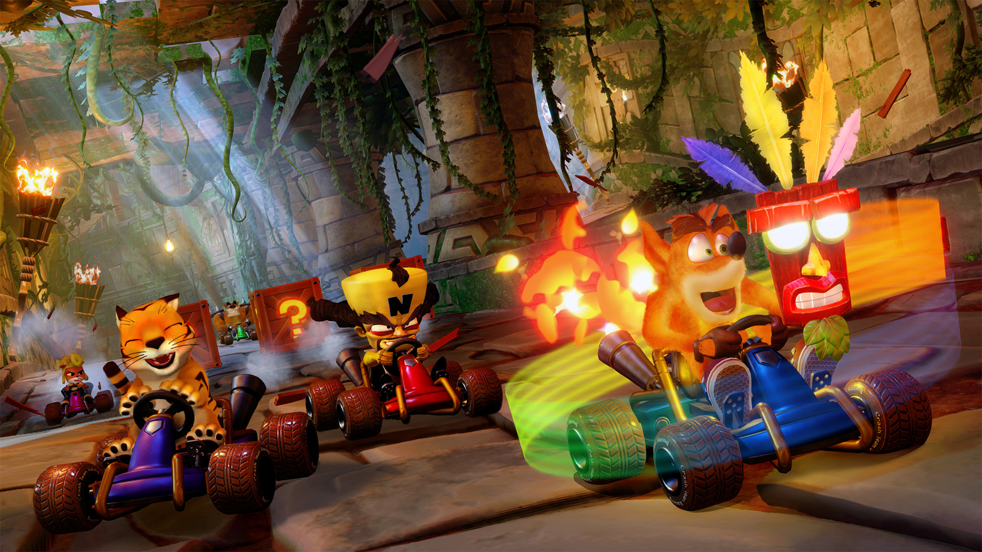 Crash Team Racing: Nitro-Fueled is a ridiculously fun ride down