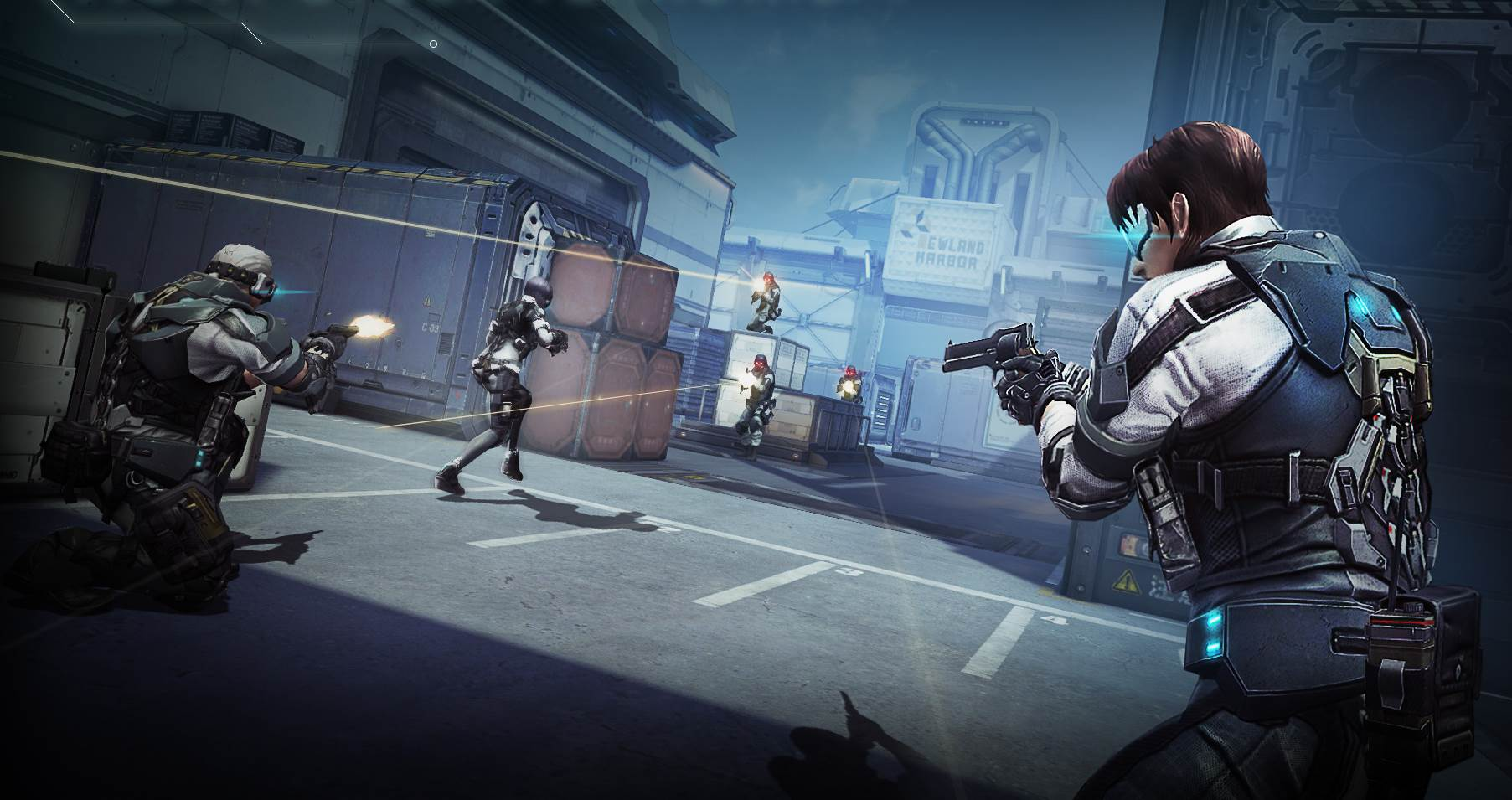 Free To Play Fps Ghost In The Shell Stand Alone Complex First Assault Enters Open Beta This Week Pc Gamer