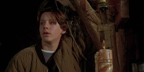 Max lighting the candle in Hocus Pocus