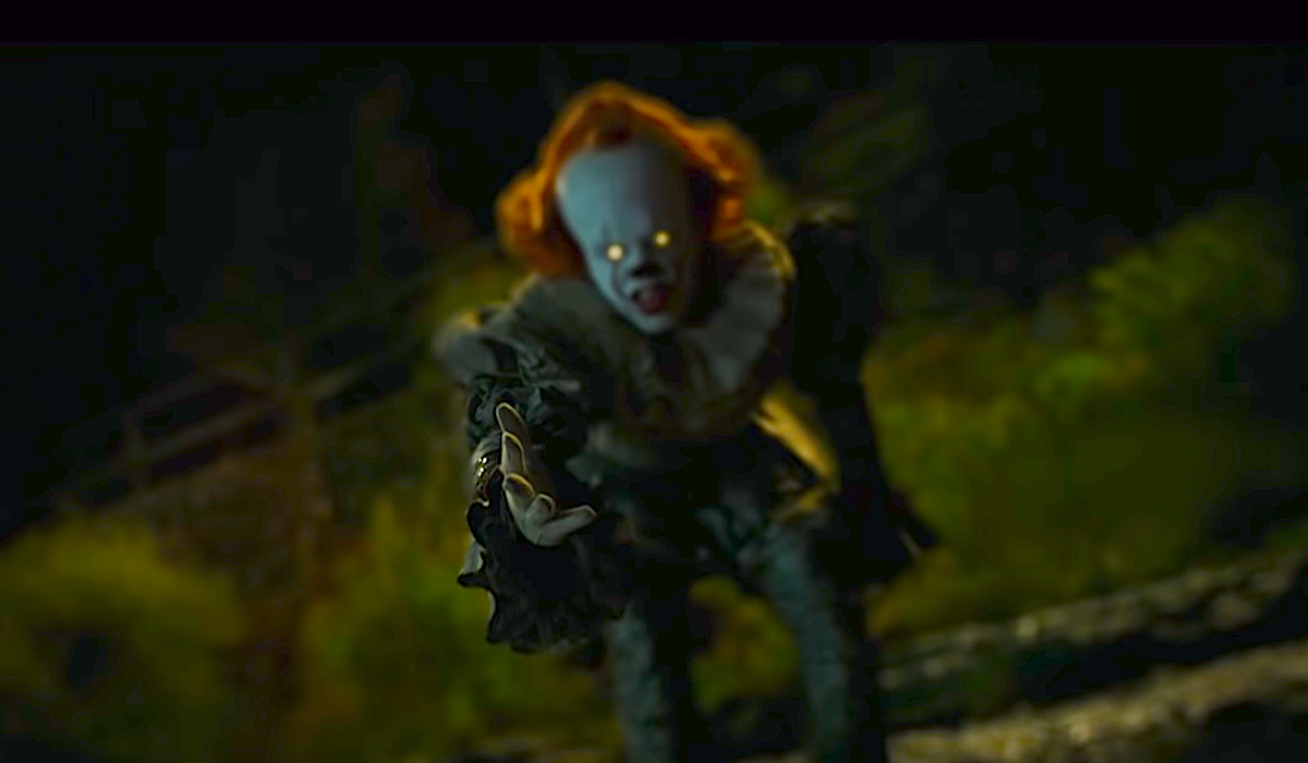pennywise appearing to adrian mellon it chapter 2