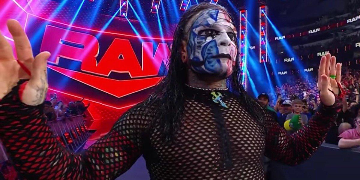Jeff Hardy on Monday Night Raw WWE