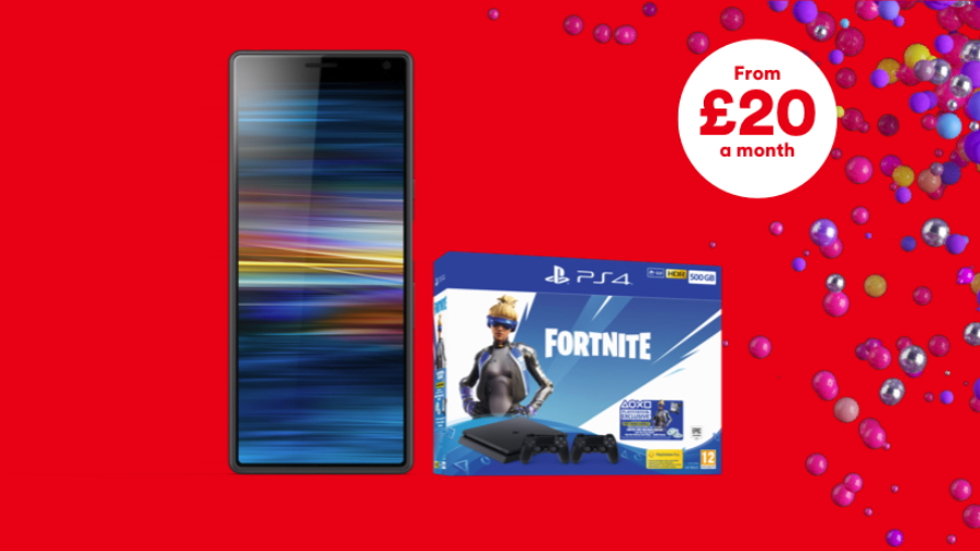 Free Fortnite PS4 bundle leads the way in Virgin Mobile's epic new