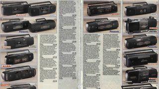 Argos radio cassette players
