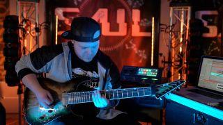 Saul guitarist Zach Bedsaul