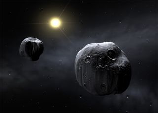 Amateur and Professional Astronomers Cooperate to Map Dancing Asteroid