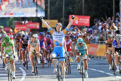 Tyler Farrar wins, Vuelta a Espana 2010, stage 21