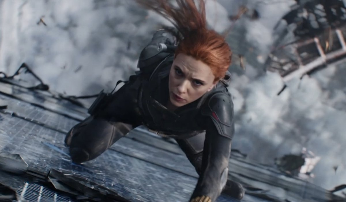 Scarlett Johansson as Black Widow in solo movie