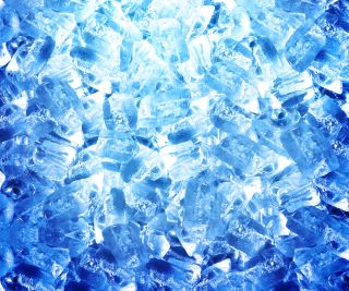 """So-called """"blue ice"""" gets its name and its color from the characteristic hue of plane lavatory deodorizing fluid."""