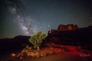 Milky Way from Arizona by Klymenko