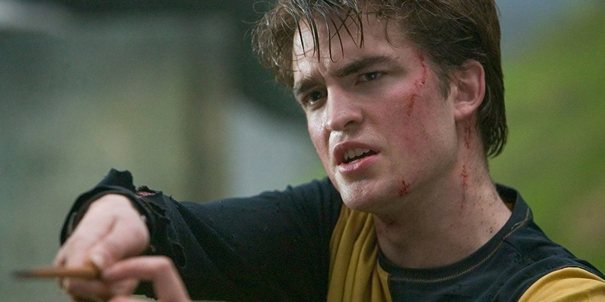 Robert Pattinson as Cedric Diggory in Harry Potter and the Goblet of Fire
