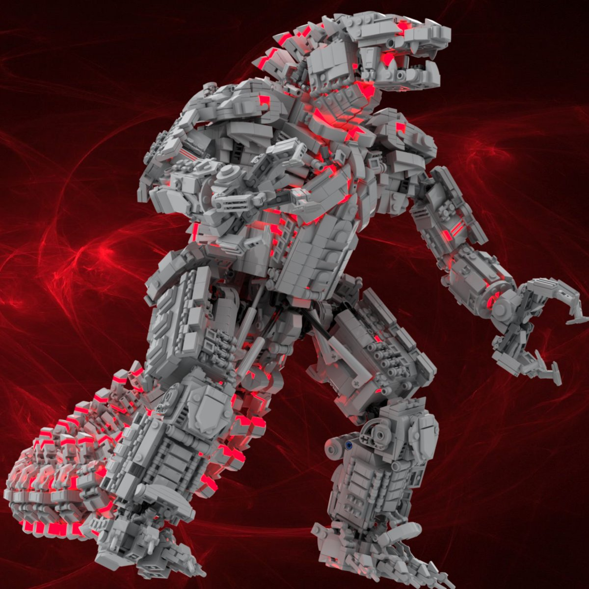 MechaGodzilla in Lego form