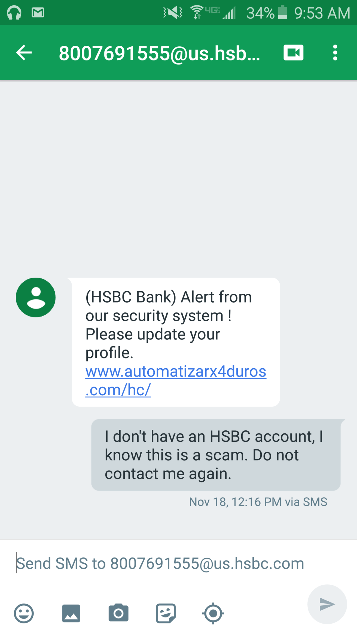 Phishing Texts Target HSBC Bank Customers | Tom's Guide