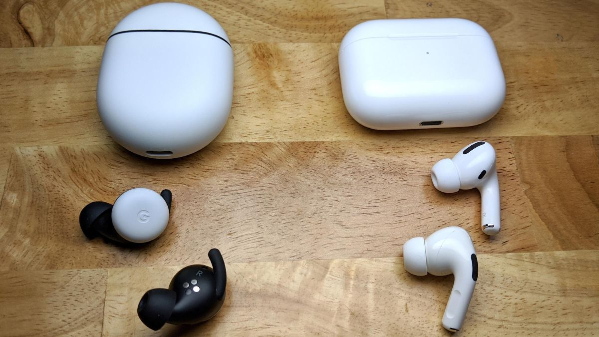 Airpods Pro Vs Google Pixel Buds 2 Laptop Mag