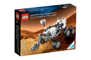 LEGO's NASA Mars Science Laboratory Curiosity Rover