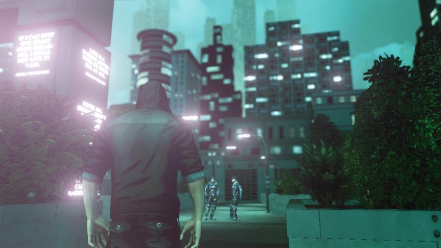 DARK Screenshots Get High-Tech, Violent #24740