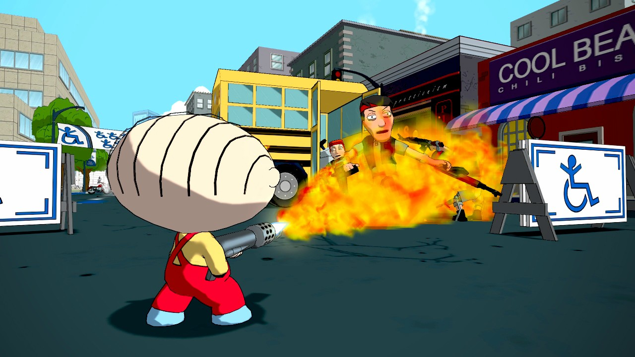 Family Guy: Back to the Multiverse Screenshots Shoot Up Quahog #22913