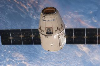 SpaceX Dragon ISS Approach