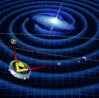 The LISA mission was planned to be the first space-based mission to attempt the detection of gravitational waves. These are ripples in spacetime that are emitted by exotic objects such as black holes.