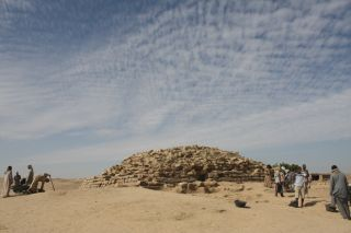 ancient step pyramid in Egypt