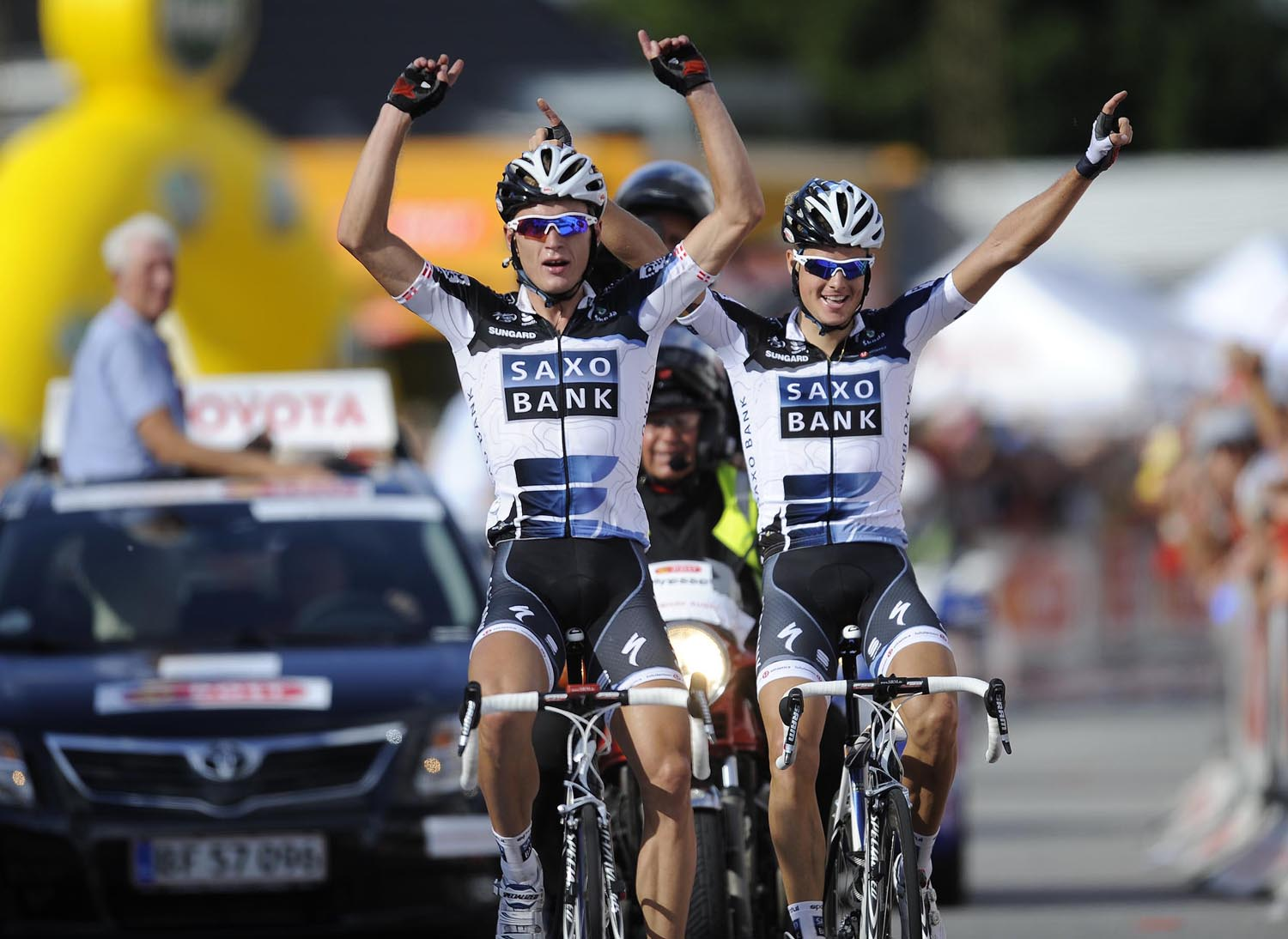 Matti Breschel wins with Jakob Fuglsang second, Tour of Denmark 2010, stage 3