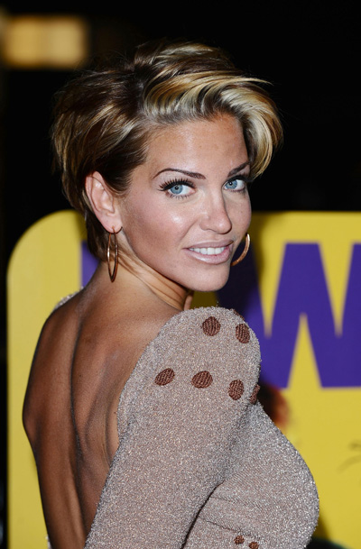 Sarah Harding 'cried hysterically' on way to rehab