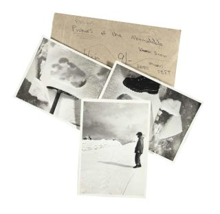 Yeti footprint photos for sale.