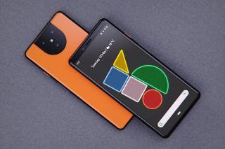 Google Pixel 5 design render