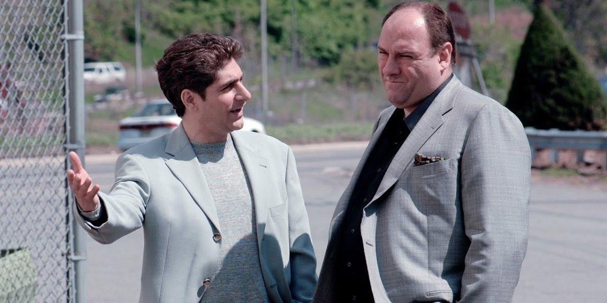 Christopher and Tony Sopranos