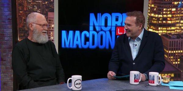 David Letterman Norm MacDonald Norm MacDonald Live