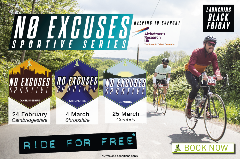 No Excuses Sportive Series 2018