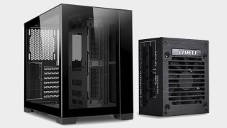 You could build a killer compact gaming PC in this $200 case and 750W PSU combo