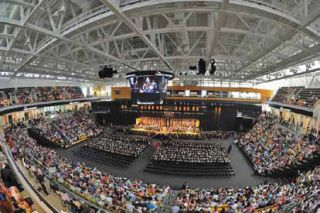Towson University's Tiger Arena Opens for Graduation