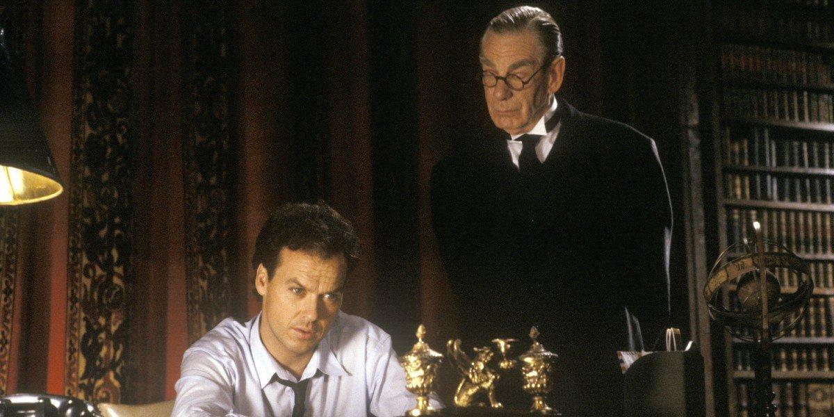 Bruce Wayne and Alfred