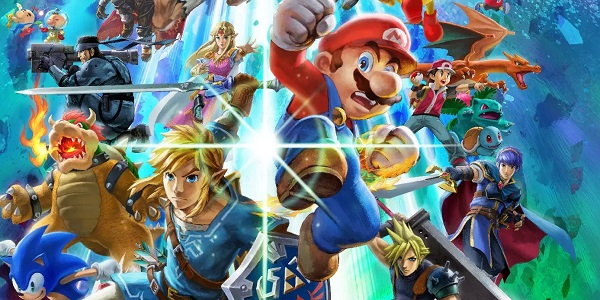 The Smash roster