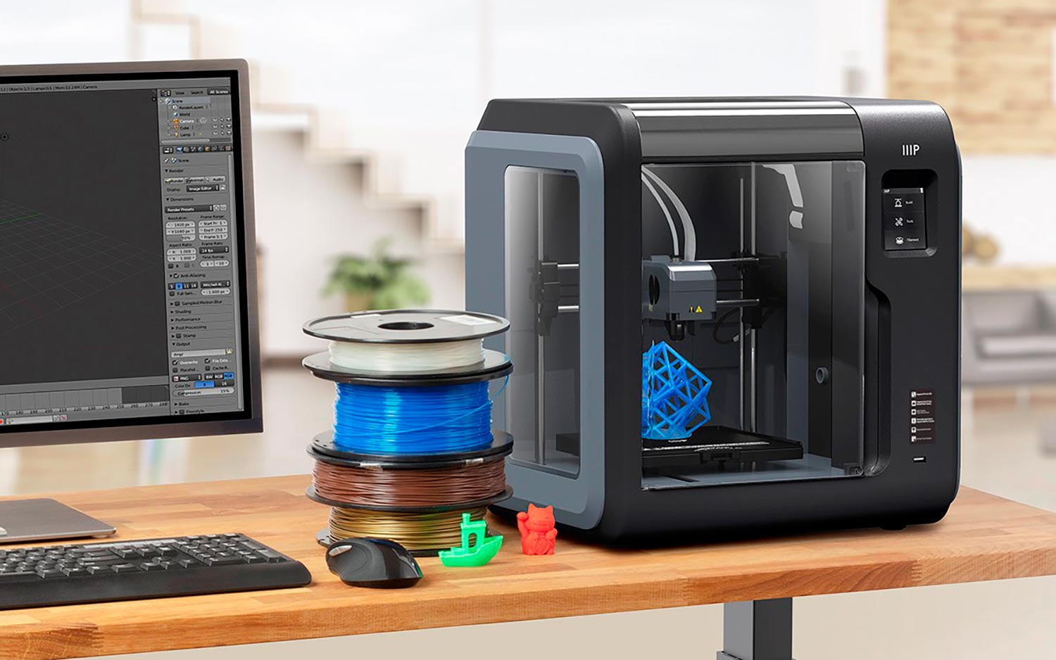 Monoprice Voxel 3D Printer Review: The Best Value for 3D